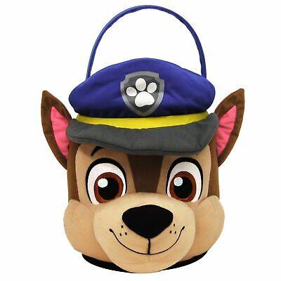 Nickelodeon Paw Patrol's CHASE Plush Storage EASTER Basket -Jumbo NEW!!](Paw Patrol Easter)