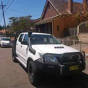 Toyota diesel Hilux dual cab 4WD Burwood Burwood Area Preview