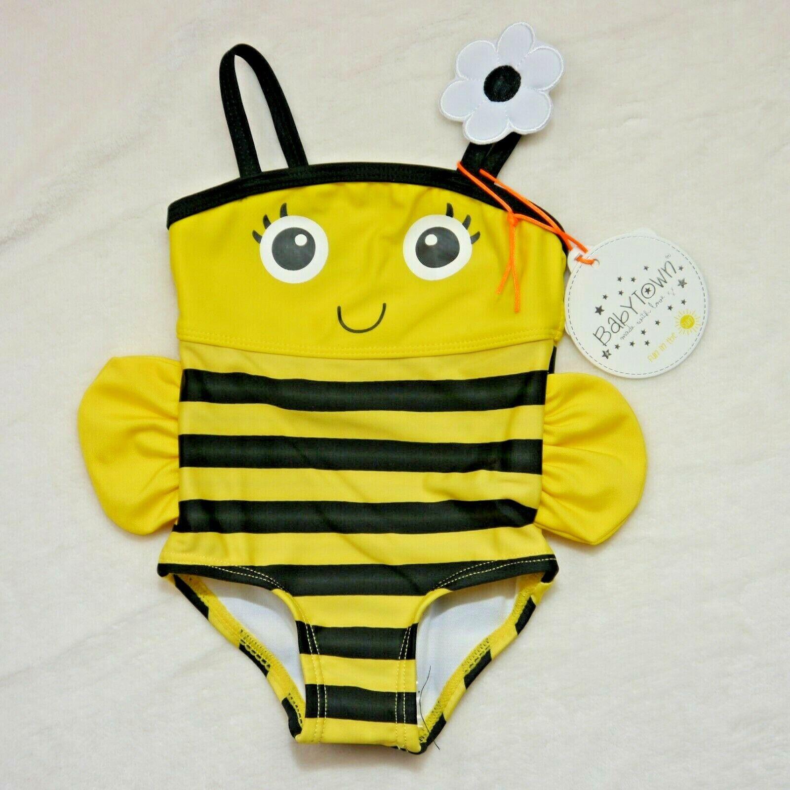 Mädchen Badeanzug Biene Gr.,68,80