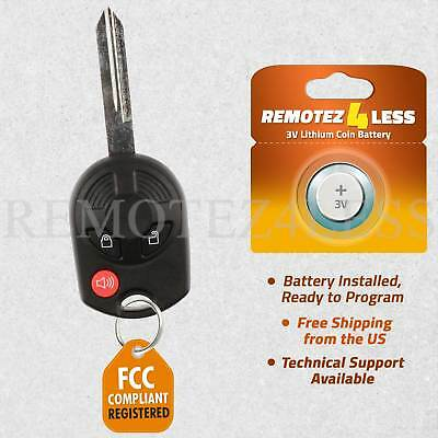 Replacement for Ford Lincoln Mercury Mazda Keyless Remote Car Entry Key Fob 3btn