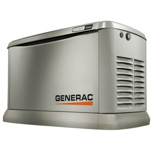 Generac 7034 - EcoGen 15kW Air Cooled Standby Generator - Alum. Enclosure (HSB)