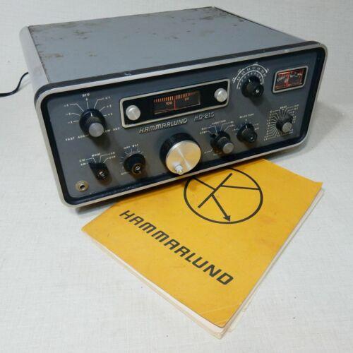 HAMMARLUND HQ-215 SOLID STATE HAM RADIO VINTAGE RADIO PROJECT COSMETIC ISSUES