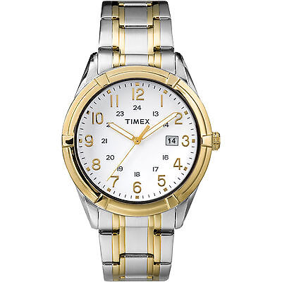 Timex TW2P76500, Men's Easton 2-Tone Bracelet Watch, Date, 30 Meter WR