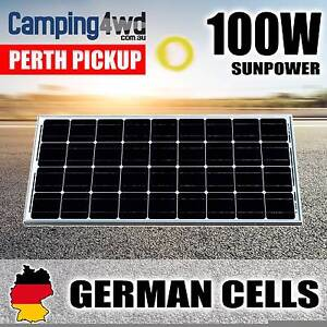 100 W SOLAR PANEL CAMPING CHARGING 12V Wangara Wanneroo Area Preview