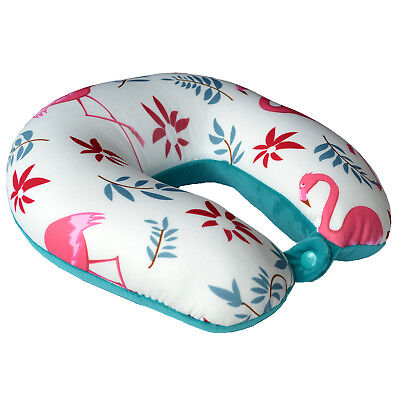 Micro Beads U Shaped Travel Pillow Air Bus Driving Long Trip Neck Head Support