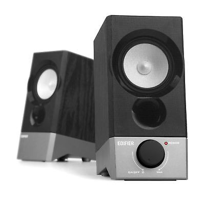 Edifier R19U Compact 2.0 Speakers Powered by USB Supports Windows 10 and Mac OS