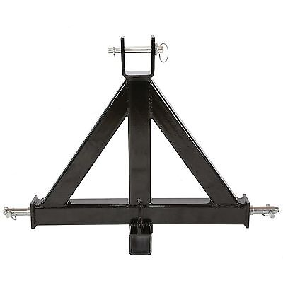 Heavy Duty 3 Point 2 Receiver Trailer Hitch Category 1tractor Tow Drawbar Pulls