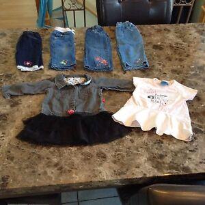 Vêtements bébé filles 27 mcx