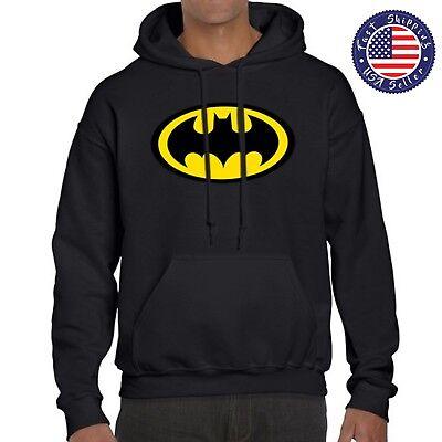 BATMAN JUSTICE LEAGUE SUPERHERO CLASSIC LOGO MEN