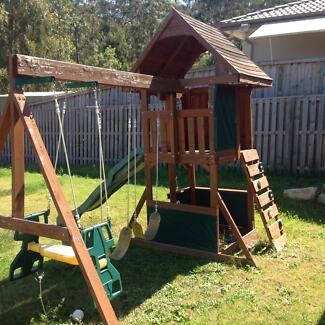 Cubby house swing set Augustine Heights Ipswich City Preview