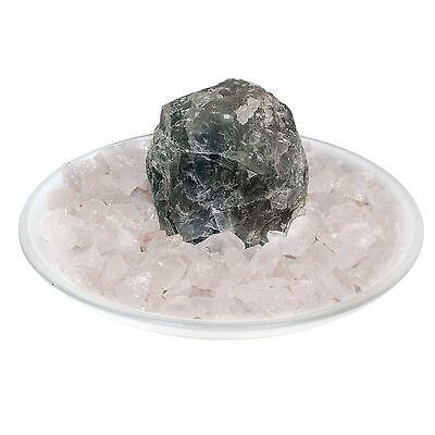 Fuente de Habitación Pozo Fluorita Cristal Roca Edelsteinbrunnen Juego Agua