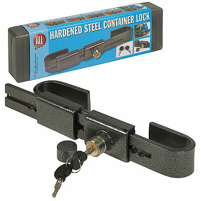 Heavy Duty Hardened Steel Container Lock Adjustable Garage Warehouse Security