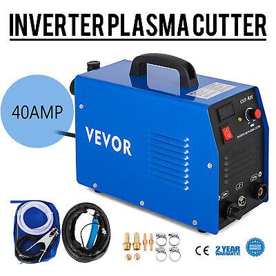VEVOR CUT40 Cortador Plasma Eléctrico Cortadores de Plasma Inversor 40 A 230...
