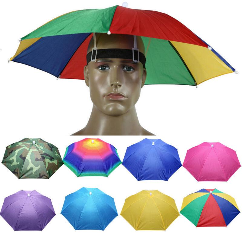 Regenschirm Hut Kopfschirm Sonnenschirm Mütze Anglerhut Sonnenhut Sommerhut Cap