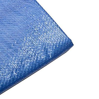 25 X 25 Blue Tarp All Purpose Water Proof Sun Shade Boat Cover Tarp