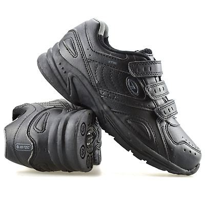 Boys Kids New Hi Tec Smart Casual Touch Strap Back To School Trainers Shoes Size - Back To School Boys Shoes