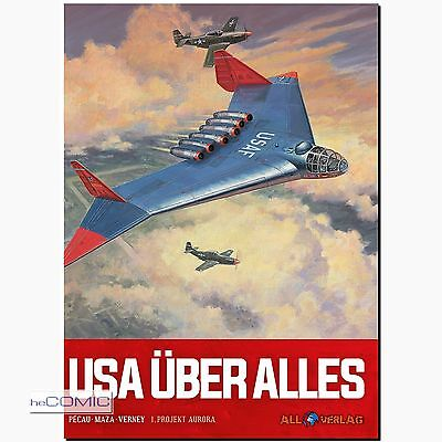USA über alles 1 Projekt Aurora Aurora Flugzeug MAZE COMIC wie Wunderwaffen NEU