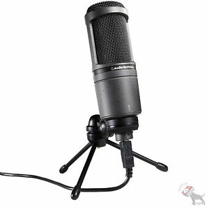 Audio-Technica-AT2020-USB-Studio-Condenser-Microphone-Mic-Well-Beat-any-Price