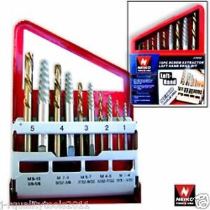 10PC-SCREW-EXTRACTOR-EASY-OUT-LEFT-HAND-DRILL-BIT