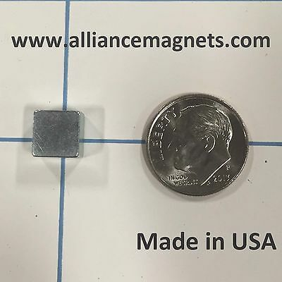 20 Pieces Rare Earth Neo Magnets Block 0.3 X 0.3 X 0.2