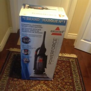"""Bissell upright bag less vacuum cleaner""""power force"""""""
