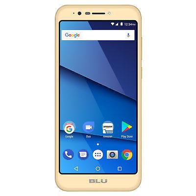 BLU Studio View XL S790Q 16GB Unlocked GSM Dual-SIM Android Phone - Gold