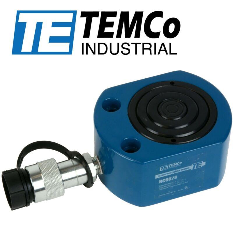 "TEMCo HC0028 Telescoping Hydraulic Cylinder Tons: 30.9/13.7/5 @ Stroke: .47""/.87"