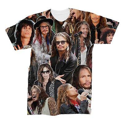 Steven Tyler Shirt (Steven Tyler Aerosmith Photo Collage T-Shirt)
