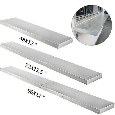 468 Foot Shelf For Concession Window Food Folding Truck Accessories Business