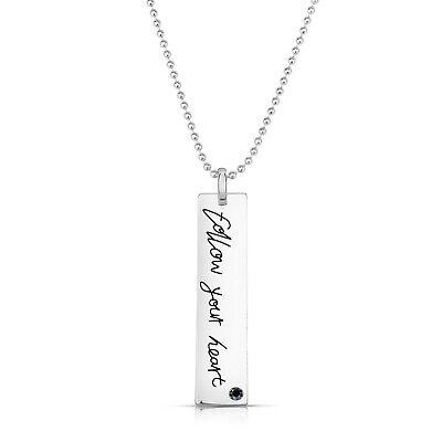 """Rozzato """"FOLLOW YOUR HEART"""" Pendant Necklace"""