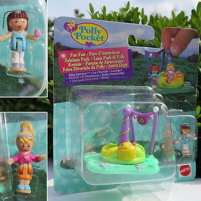 NEW Mini Polly Pocket Karussell Dumme Spinner NEU OVP ()