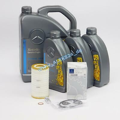Original Mercedes Ölservice Ölfilterpaket C-E-M-Klasse Vito Sprinter 0001802609