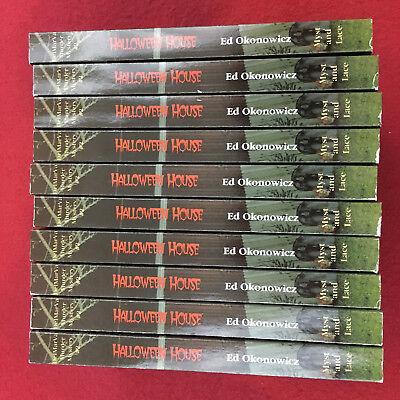 Halloween House (DelMarVa Murder Mystery, #2) by Ed Okonowicz lot of 10 copies - Halloween Murder Mysteries