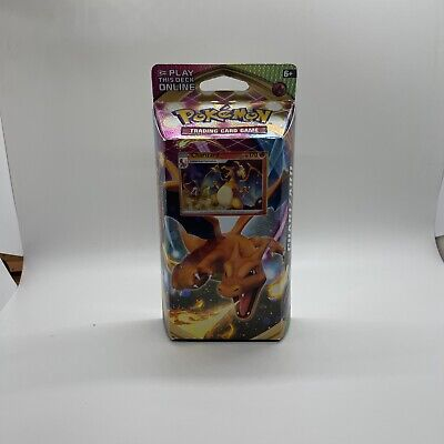 Pokemon Sword and Shield Vivid Voltage with Cracked Ice Charizard Theme Deck