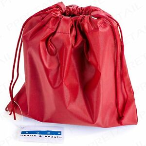 QUALITY SMALL DRAWSTRING BAG Overnight Toiletry Wash Pouch Boys/Girls Sleepover