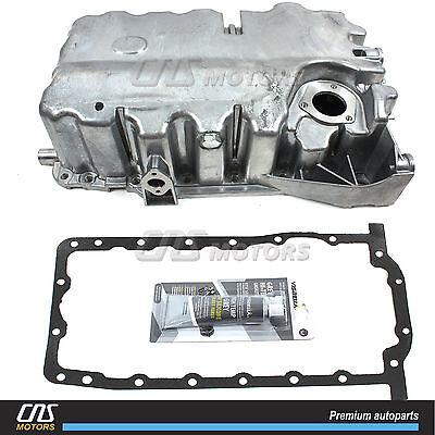 Engine Oil Pan w/ Graphite Gasket for 06-08 VW EOS Jetta Passat 2.0L Turbo
