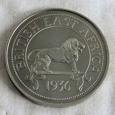 EDWARD VIII BRITISH EAST AFRICA 1936 MILLED EDGE PROOF PATTERN CROWN