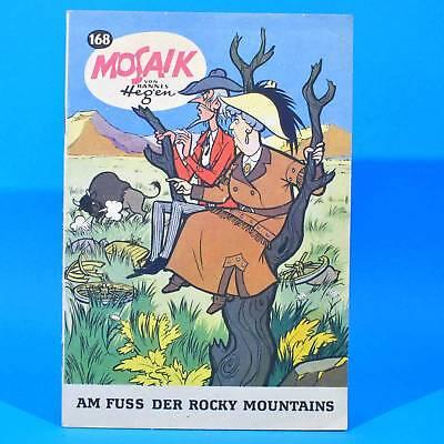 Mosaik 168 Digedags Hannes Hegen Originalheft   DDR   Sammlung original MZ 13