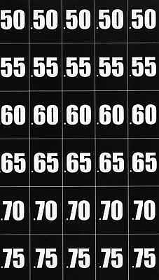 Vending Machine Vinyl Price Stickers For Pepsi Coke Soda