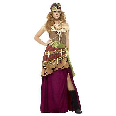 Damen Voodoo Priestess Kostüm Zigeuner Halloween Damen Kostüm - Zigeuner Outfit