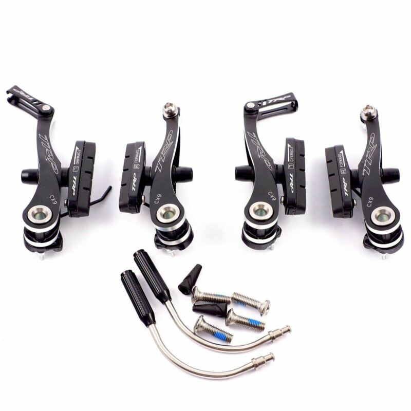 TRP CX9 Black Mini-V Brake CNC Front and Rear cyclocross Black