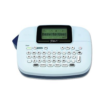 Brother P-touch Ptm95 Handy Label Maker 9 Type Styles 8 Deco Mode Pattern...