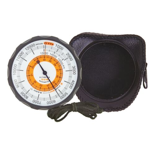 Sun Company Altimeter 202 - Battery-Free Altimeter and Barometer
