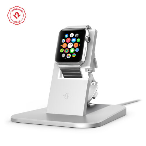 Twelve South HiRise for Apple Watch, silver, Metal charging dock for Apple Watch