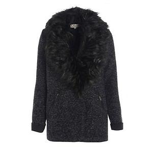 Black Fur Coat | Womens Faux Fur Coats | eBay