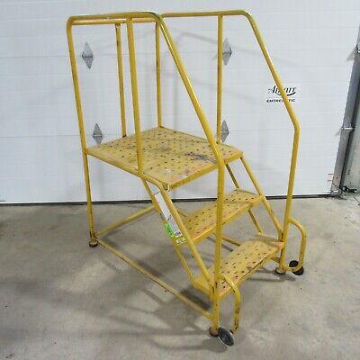 30 Platform Rolling Ladder 3 Steps Used Local Pickup Serial No. X045697