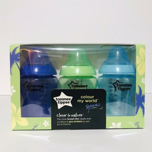 Tommee Tippee Closer To Nature 9 Ounce Colour My World Baby