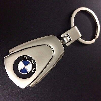 BMW 1,2,3,4,5,6,7 Series X1,X3,X5,M1,M3,M4,M6 KEYRING KEY CHAIN Chrome Metal UK