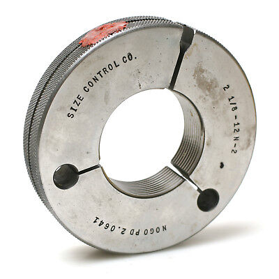 Size Control Co. 2-18-12 Ns-2 Thread Not-go Ring Gauge