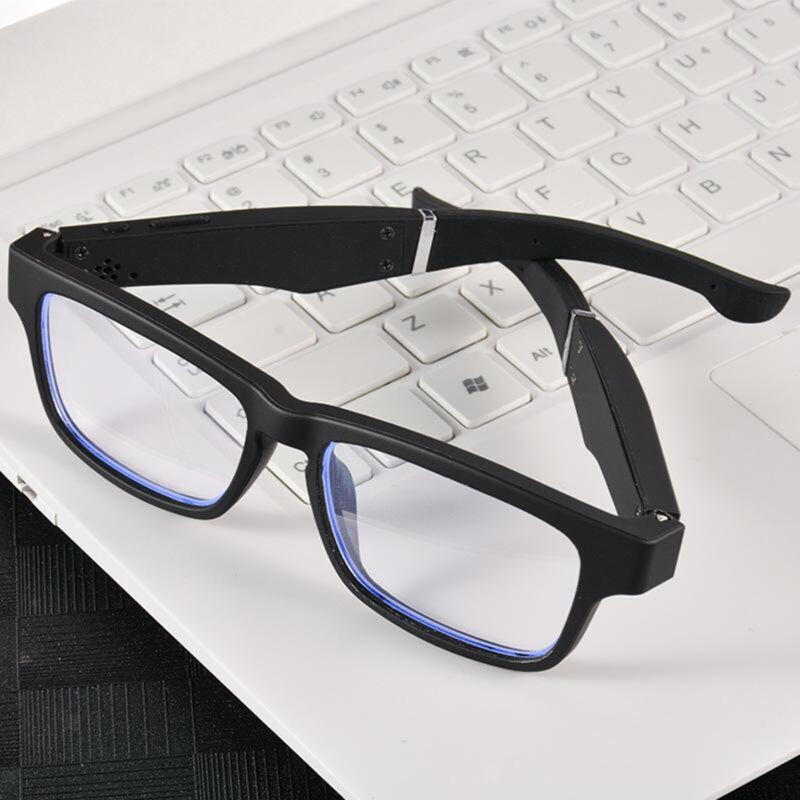 Audio Eyeglasses Smart Bluetooth Open Ear Headphone Glasses Bone Conduction